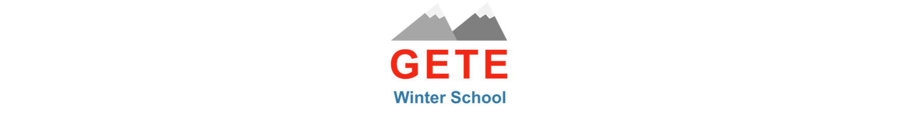 Logo for GETE Winter School